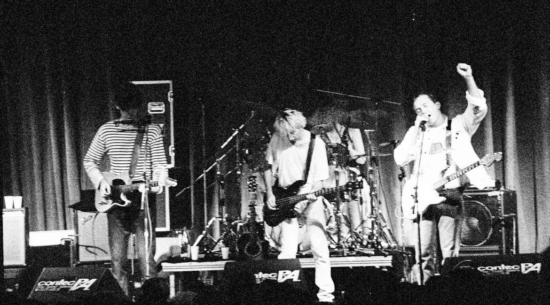 Fotograbenkämpfe – The Go-Betweens, Bielefeld 1988 im PC 69
